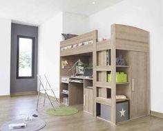 Loft Bed With Walk In Closet Underneath