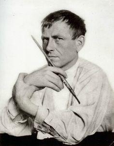 Otto Dix, photo by Hugo Erfurth