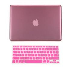 """TopCase® Macbook Pro 15"""" A1398 with Retina Display 2 in 1 PINK Crystal See Thru Hard Case Cover and Keyboard Cover +TopCase® Mouse Pad"""