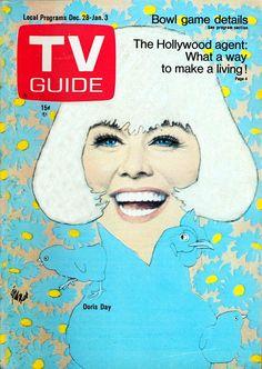 1968 drawing of Doris Day
