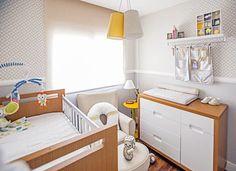 quarto pequeno de bebê