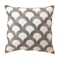 Peking Handicraft Scales 16-In W X 16-In L Granite Indoor Decorative Pillow 24Dl403gy16sq
