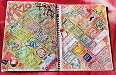 Calendar Journal Marzo -Monica e lo Scrapbooking