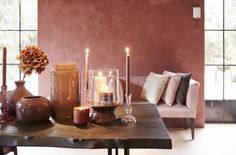 Woontrends red interior rood interieur display