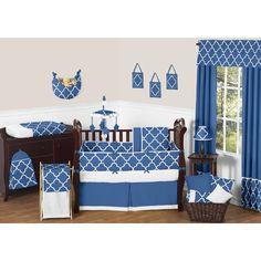Found it at Wayfair - Trellis 9 Piece Crib Bedding Set
