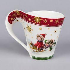 ** Hrníček na čaj - porcelán s vánočním motivem **