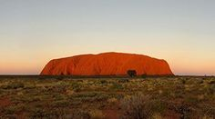 Uluru, Central Australia, rises 348 metres above the plain, more than 860 metres above sea level - that is higher than the Eiffel Tower in Paris or the Chrysler Building in New York. Chrysler Building, Paris Eiffel Tower, Sea Level, Fun Facts, Sunrise, National Parks, Australia, Explore, Campervan