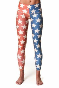 These # teeki leggings are made from recycled plastic water ...