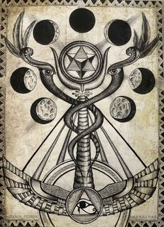 esoteric occult art