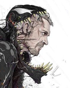 mjhiblenart'Black tears' another venom Marvel Venom, Marvel Villains, Marvel Vs, Marvel Dc Comics, Marvel Characters, Comic Book Characters, Storm Marvel, Marvel Universe, Venom Art