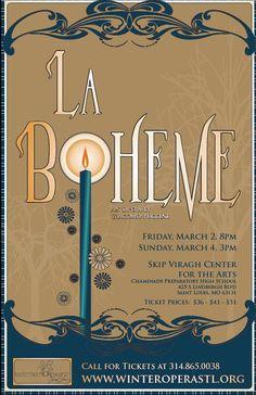 Saw La Boheme at the Harrison Opera House in Norfolk....Nov 10, 2015.