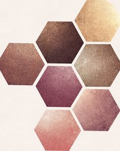 Rose Gold Pigmented Paper by desireelange on @creativemarket