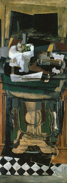 Georges Braque: Guitar and Still Life on a Gueridon (1979.481) | Heilbrunn Timeline of Art History | The Metropolitan Museum of Art