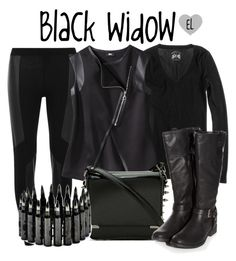 """""""Black Widow -- Captain America: The Winter Soldier"""" by evil-laugh ❤ liked on Polyvore featuring Dorothy Perkins, J.Crew, Mossimo, BlackWidow and CaptainAmericaTheWinterSoldier"""