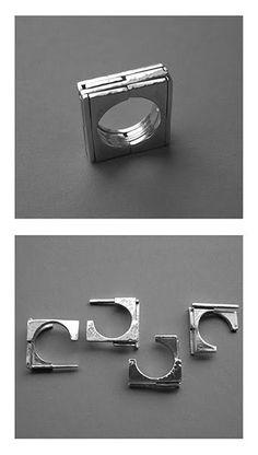 YAEL FRIEDMAN-IL  puzzle rings - http://www.yayo-design.com/puzzles_lb