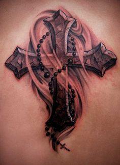 tattoo patterns   Popularity of Cross Tattoo Designs