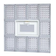 Pittsburgh corning guardwise 30 in x 40 in x 3 in for Where to buy glass block windows