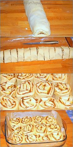 Recipe brioche rolls with apples and cinnamon - Recettes - Salad Recipes Healthy Easy Cake Recipes, Healthy Salad Recipes, Bread Recipes, Brioche Rolls, Brioche Bun, Banana Dessert Recipes, Rolls Recipe, Dough Recipe, Quick Easy Dinner