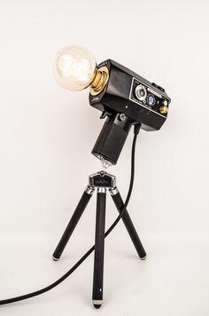 Great Kamera Lampe Super Yashica Super Electro