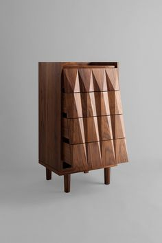 Juglans Chest of Drawers by Larkbeck