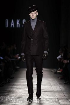 Daks Menswear Fall Winter 2013 Milan