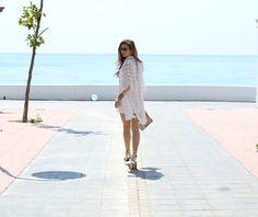 Mbcos blog de moda Malaga spanish blogger whatsappmode moda mujer espana white and gold costa del sol