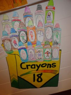 """Activity to go with the book """"The Crayon Box that Talked:"""