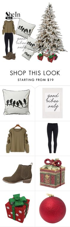 """Untitled #143"" by ermina000 ❤ liked on Polyvore featuring Paige Denim, Steve Madden and Fitz and Floyd"