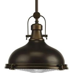 Progress Lighting Fresnel Lens Oil Rubbed Bronze Transitional Clear Glass Dome LED Pendant Light at Lowe's. The Fresnel one-light LED pendant has an antique-inspired Fresnel glass lens, industrial roots in form and function. Bronze Pendant Light, Led Pendant Lights, Pendant Lighting, Pendant Lamp, Ceiling Pendant, Ceiling Light Fixtures, Pendant Light Fixtures, Ceiling Lights, Ceiling Fans