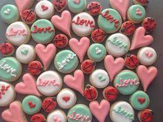 Cute mini cookies.