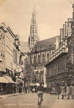 De Zijlstraat in Haarlem omstreeks 1949