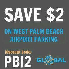 PBI West Palm Beach Airport Parking Coupon