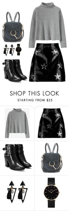 """""""Day with Harry"""" by fatyespinosa1 on Polyvore featuring moda, Boohoo, Nasty Gal, Chloé, CLUSE y harrystyles"""