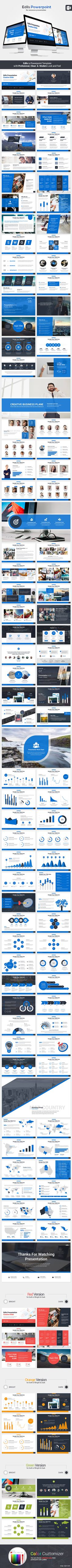 Buy Edils Powerpoint Template by ROCKETSTILL on GraphicRiver. Powerpoint Template Edils a clean, scalable and multipurpose Powerpoint Template to present your business to p. Keynote Presentation, Design Presentation, Presentation Slides, Presentation Templates, Keynote Design, Powerpoint Design Templates, Keynote Template, Web Design, Graphic Design