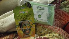 #PepVoxBox 7th heaven exfoliator & masque, Simple cleansing facial wipes. Obsessed with skin care products so excited to try these