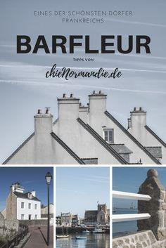 Barfleur auf dem Cotentin – eines der schönsten Dörfer Frankreichs. Tipps auf www.chienormandie.de