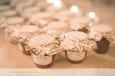 Wedding favors - marmelade home Made - shabby chic - pink and brown wedding