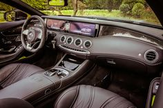 The AMG treatment to the 2017 Mercedes-Benz S-Class Cabriolet yields the S63 drop-top that is both comfortable and massively quick with a twin-turbocharged V-8 engine packing 577 horsepower and 664 pound-feet of torque.