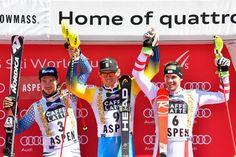 SL 1.Andre Myhrer 2.Felix Neureuther 3.Michael Matt Snowboard, Rugby, Hockey, Sl 1, Freestyle, World Cup, Skiing, Audi, Photos