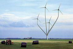 Design for a modern Dutch Windmill Renewable Energy, Solar Energy, Solar Power, Renewable Sources, Home Wind Power, New Energy, Le Moulin, Alternative Energy, Looks Cool