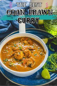 Indian Shrimp Curry, Indian Prawn Recipes, Goan Prawn Curry, Prawn Masala, Goan Recipes, Fish Curry, Curry Recipes, Seafood Recipes, Cooking Recipes