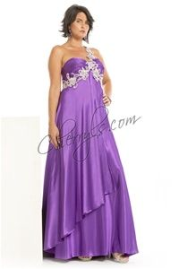 Gorgeous plus size evening gown from PartyTime Formals