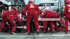 @ROLEX_OFFICIAL : Rolex presents The Pit Men of Formula 1 ••• Un arrêt au stand réglé à la seconde