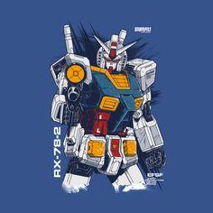 Shop RX 78 gundam t-shirts designed by Prajoedi as well as other gundam merchandise at TeePublic. Geeky Wallpaper, Robot Wallpaper, Vintage Robots, Gundam Wallpapers, Gundam Mobile Suit, Unicorn Gundam, Gundam 00, Girls Anime, Custom Gundam