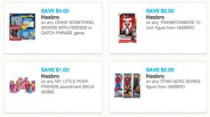 New Hasbro Toy and Game Printable Coupons