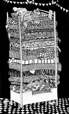 naomese - naomi bardoff's art blog: Princess and the Pea