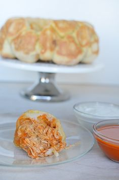 Buffalo Chicken pull-apart. The perfect meal for both your family and your next party!