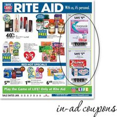 Rite Aid Coupons - The Krazy Coupon Lady How To Start Couponing, Rite Aid, Coupon Matchups, Game Sales, Coupons, Coupon