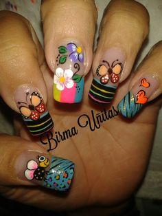 Nails Nail Art, Nails, Hair And Nails, Dress, Space Nails, Lace Nails, Freckles, Finger Nails, Ongles