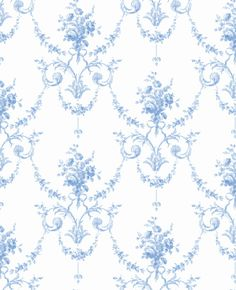 French Toile from Chambray Wallpaper Book